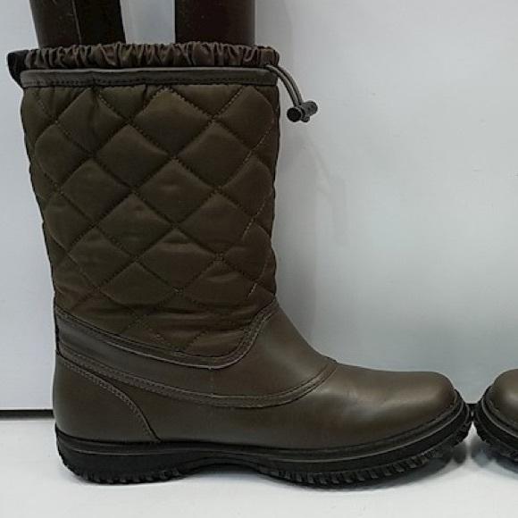 COACH Brown Samara Aniline Boots Q7055/A9175 W8.5B